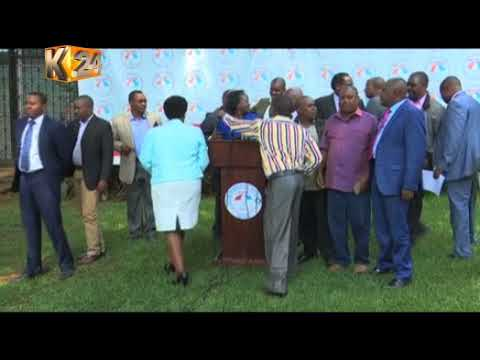Raila insists on being sworn in with or without the support of his co-principals