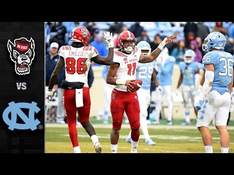 NC State vs. North Carolina Football Highlights (2018)