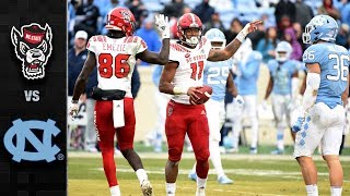 NC State vs. North Carolina Football Highlights (2018)