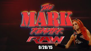 A satirical recap of WWE Raw 9/28/15. LittleKuriboh comments on mat...
