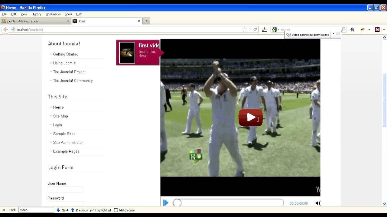 Joomla video tutorials torrent.