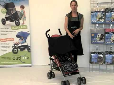 Find out more about the Outlook Solar Shade - sun protection for your stroller