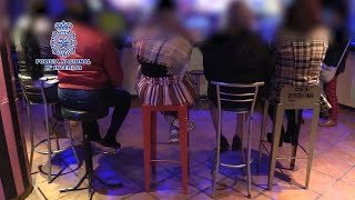 Policía rescata a cinco víctimas de explotación sexual en Murcia