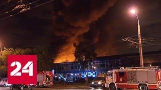 Пожар в Медведкове: к тушению огня привлечены вертолеты