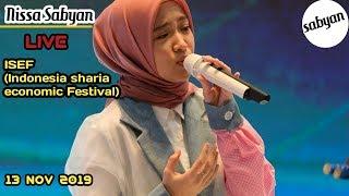 Heboh...!! Nissa Sabyan live jcc (jakarta convention center)| isef