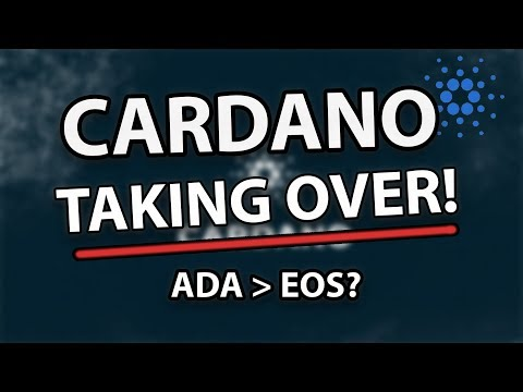 CARDANO (ADA) BIG NEWS! VERY BIG Increase In Price! Is it Better Than EOS?