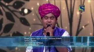 Moti Khan sings Surili Akhiyon Wale & sublime lyrics of Gulzar sab @ Indian Idol Junior !