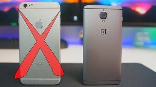 Troquei o Meu Iphone 6S - One Plus 3 Unboxing | Primeiras Impressões