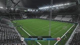 (PS4) FIFA 14 | Juventus vs Roma | FULL GAMEPLAY [PlayStation 4 1080p HD Next Gen]