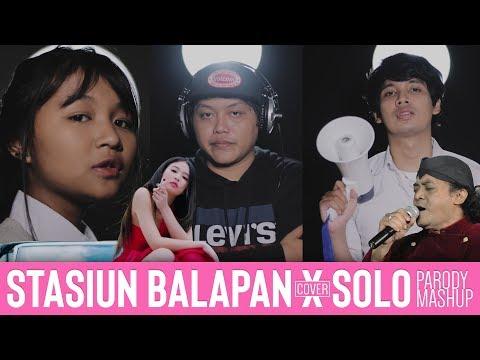 Stasiun Balapan x 'SOLO' - JENNIE & Didi Kempot [Mash Up Cover]