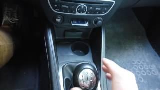 Заедание рукоятки переключения МКПП Renault Fluence