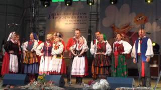 Występy zespołów lokalnych - Dożynki Wojewódzkie 2011 Dąbrówka Wlkp.