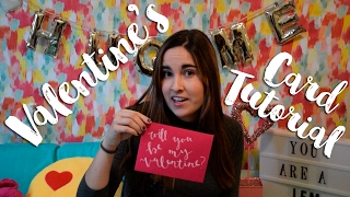 You Are A Jem: Valentine's Card Tutorial.