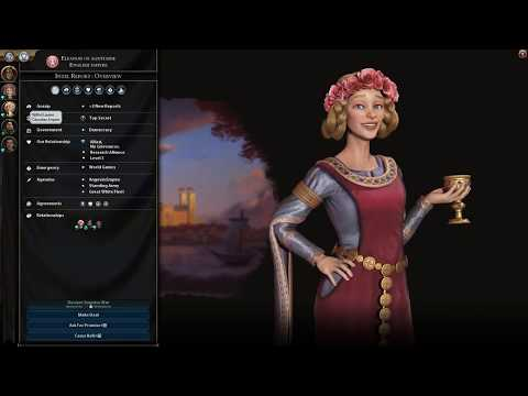 Civ VI - Gathering Storm: First Game Diplomatic Win (Science/Diplomatic Victory, Deity, Scythia)