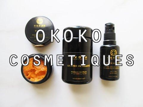 Okoko Cosmetiques Brand Review! // Vegan, Cruelty Free, Green Skincare!