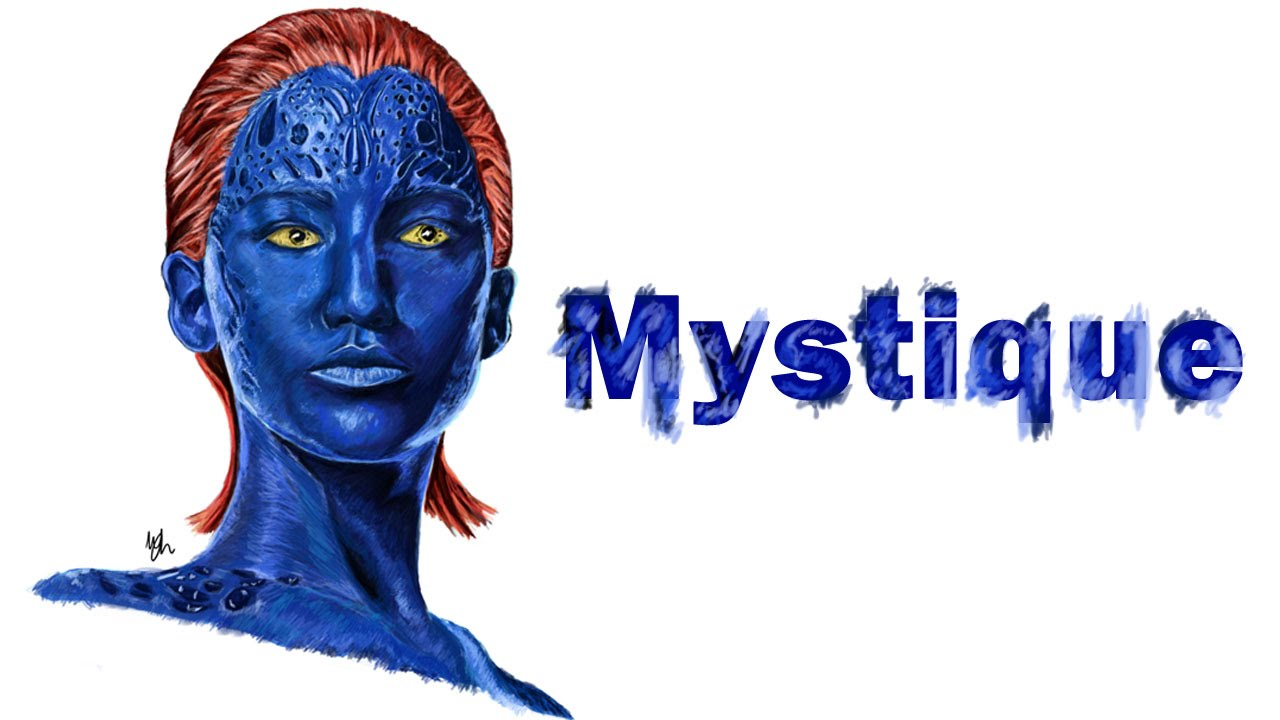 Mystique (X-Men) speed...