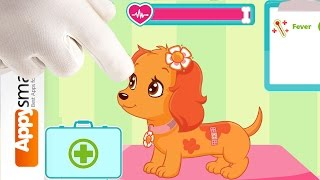 Strawberry Shortcake Puppy Doctor - Best Games for Kids