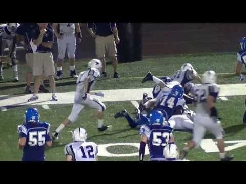 Nate Parsons #89 Johnson Ferry Christian Academy Saints (with music)