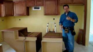 How To Install Base Cabinets (Part 1 of 4)