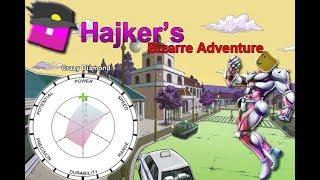 Hajker es Bizarre Adventures (Crazy diamond) jojo roblox