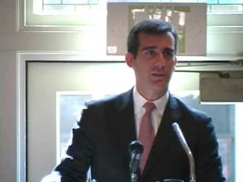 2007 CSWA Awards Luncheon - Eric Garcetti