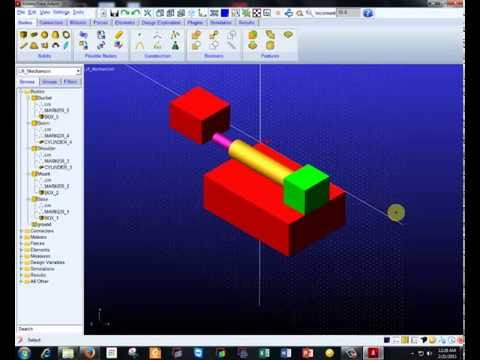 ADAMS View Tutorial for Lift Mechanism