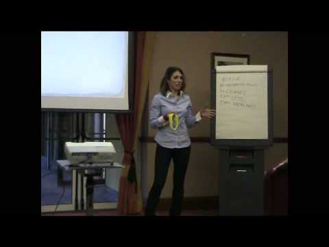 "Anna Aparicio IINLP/Hypnosis Life Coach speaking at ""The truth about fat loss..."", Dublin"