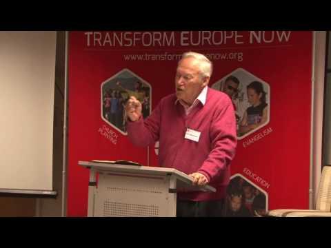 John Blanchard at TEN Conference Saturday devotions