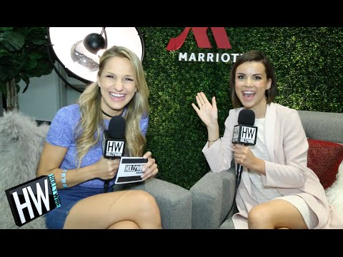 Ingrid Nilsen Shares Embarrassing Story & Shows Off Dance Moves!