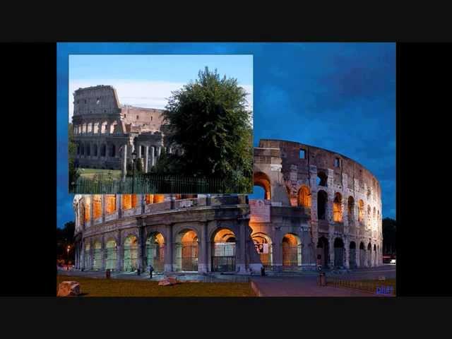 רומא העתיקה - הפורום הרומי והקולוסיאום