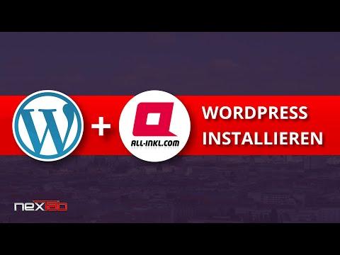 [Tutorial] WordPress Installation bei all-inkl.com