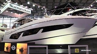 2018 Sunseeker Predator 50 Luxury Motor Yacht - Walkaround - 2018 Boot Dusseldorf Boat Show