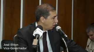 José Eliton Jr entrevistado pelo Clube de Repórteres Políticos