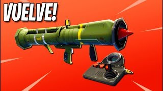 *MISIL TELEDIRIGIDO* VUELVE A FORTNITE: Battle Royale