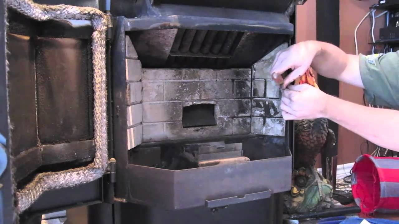 Pellet Stove Cleaning Youtube