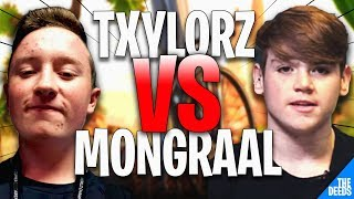 Secret Mongraal 1 VS 1 Txylorz, Gurkan & Silence Shaun | Fortnite Creative 1v1 Build Fights