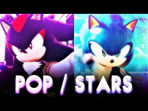 【Sonic MMD】K/DA「POP/STARS」| Sonic x Shadow Version |【UltraWide】