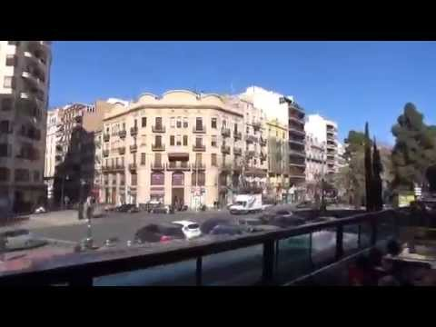 Valencia , Spain , tourist bus, tour, beach
