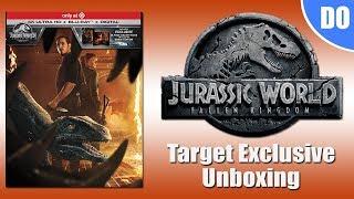 Jurassic World Fallen Kingdom Target Exclusive 4K Ultra HD Blu-ray Unboxing & Digital Giveaway