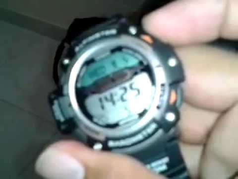 73192d7bd651 reloj casio SGW 300H - YouTube