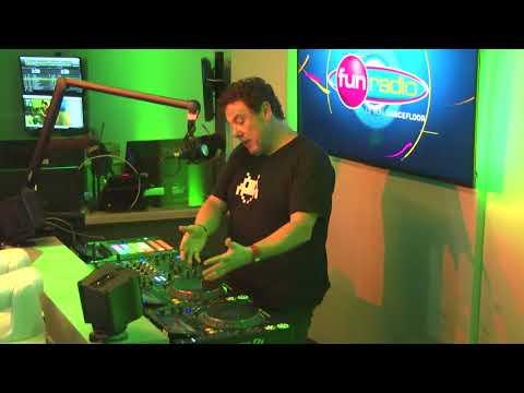 Joachim Garraud en interview sur Fun Radio