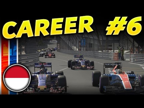 F1 2016 CAREER MODE PART 6: MONACO