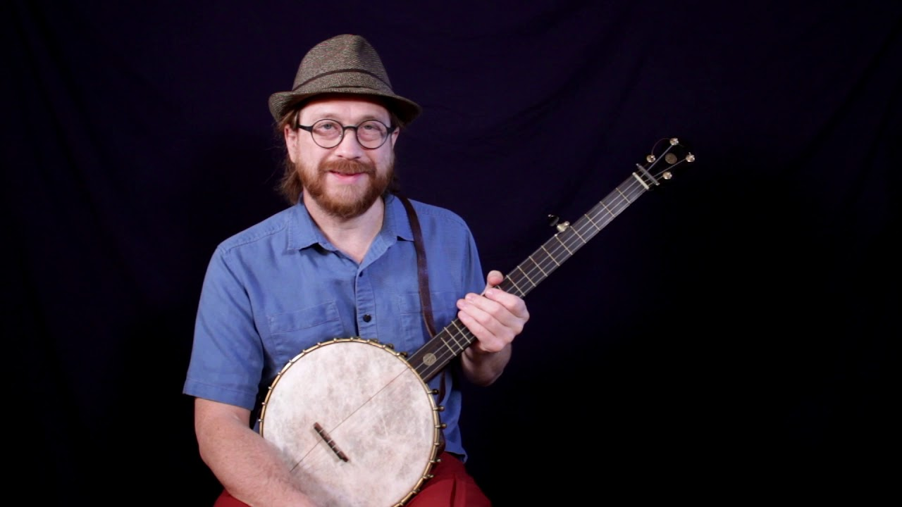 Traditional Jewish Melody in G Minor Tuning - Clawhammer Banjo (lessons & tablature)