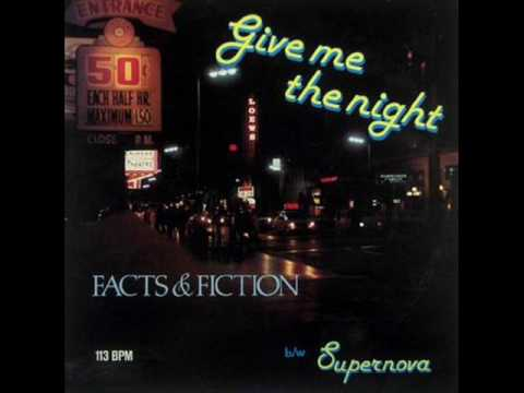 FACTS AND FICTION - Give me the night    (Extended)