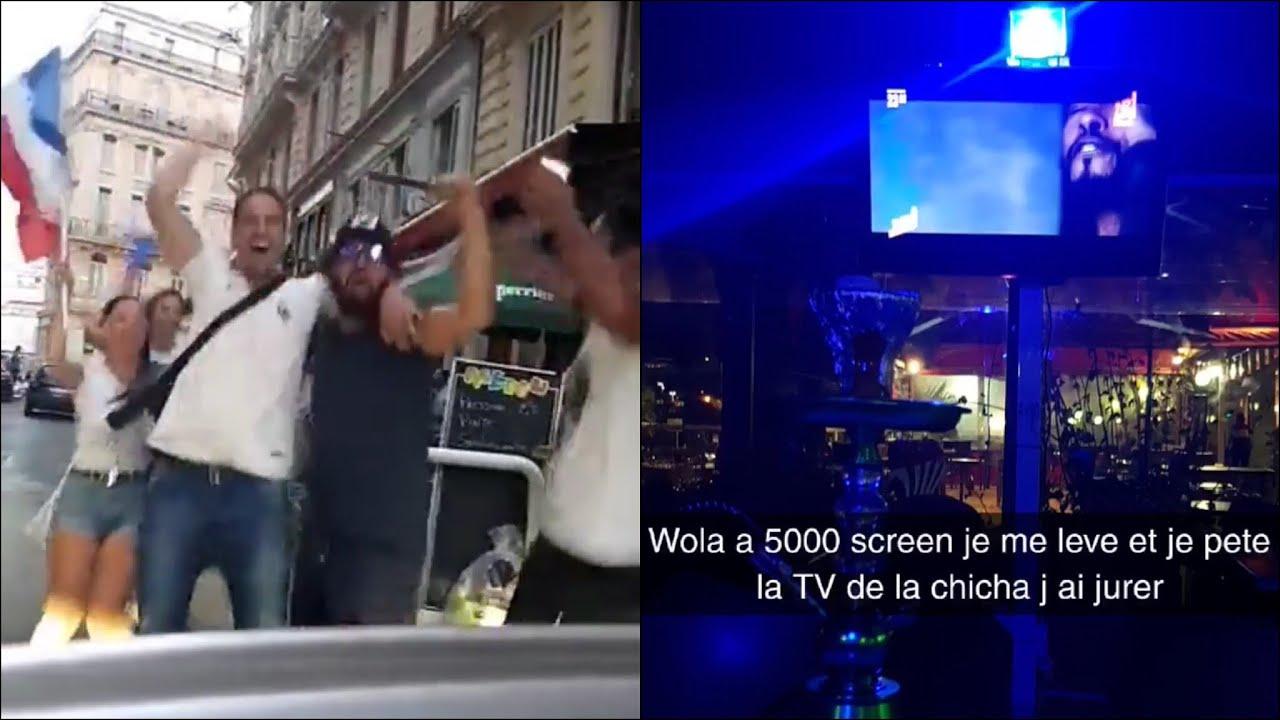 Mohamed Henni FAIT LA FÊTE (IL CASSE LA TÉLÉ D'UNE BAR CHICHA!)