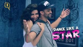 Jhalak Stars Karishma Tanna & Rajit Teach Us Some Mean Moves
