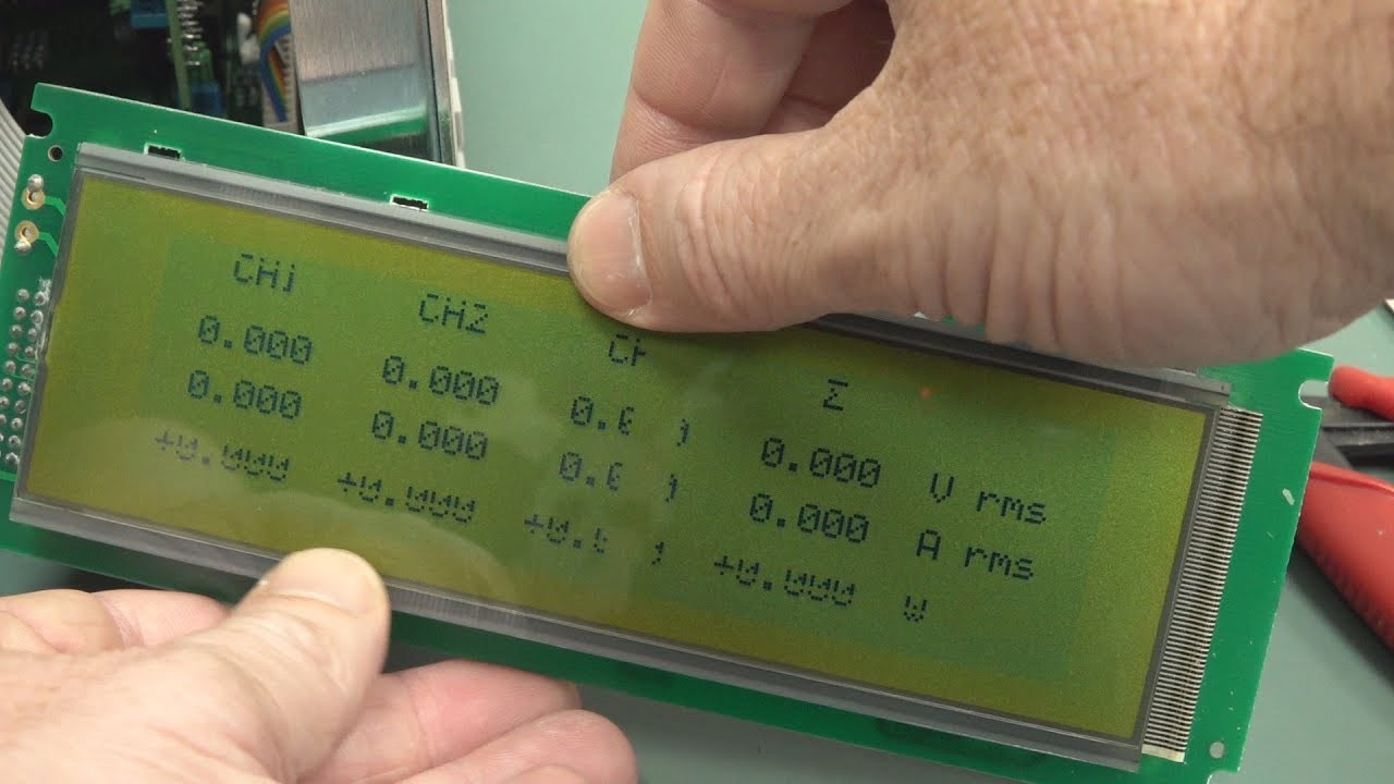 Download EEVblog #1192 - Power Meter LCD Repair