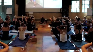 90 Minute Yoga Class With Baron Baptiste LIVE From Fit To Lead