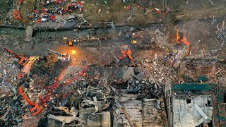 19 dead, 172 injured after tanker truck explosion in Zhejiang Province
