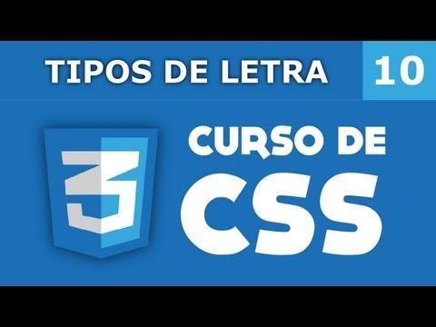 10. Tipos De Letra En CSS
